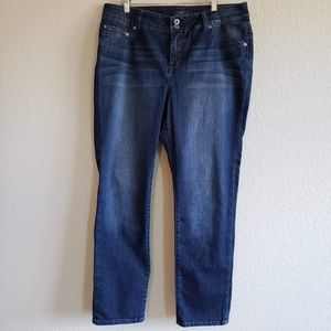 Lucky Brand | Plus Size Emma Straight Jeans